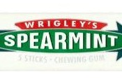 Wrigley's Spearmint žuvačka s mätovou príchuťou 13 g