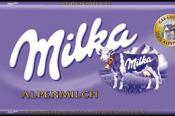 Čokoláda Milka mliečna 100g