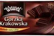 Wawel Horká čokoláda 70% kakaa 100 g